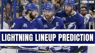 Predicting the Tampa Bay Lightning Opening Night Lineup | NHL 2019-2020 Season