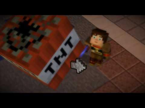 Minecraft Story Mode Jesse Male And Jesse Female Lava Race Youtube