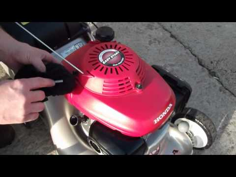 Honda Lawnmower Engine Oil Check - livgm.co.uk
