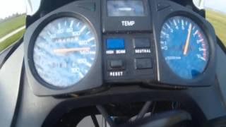 acceleration yamaha xtz 660