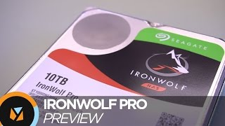 Seagate Ironwolf Pro HDD + QNAP NAS Preview