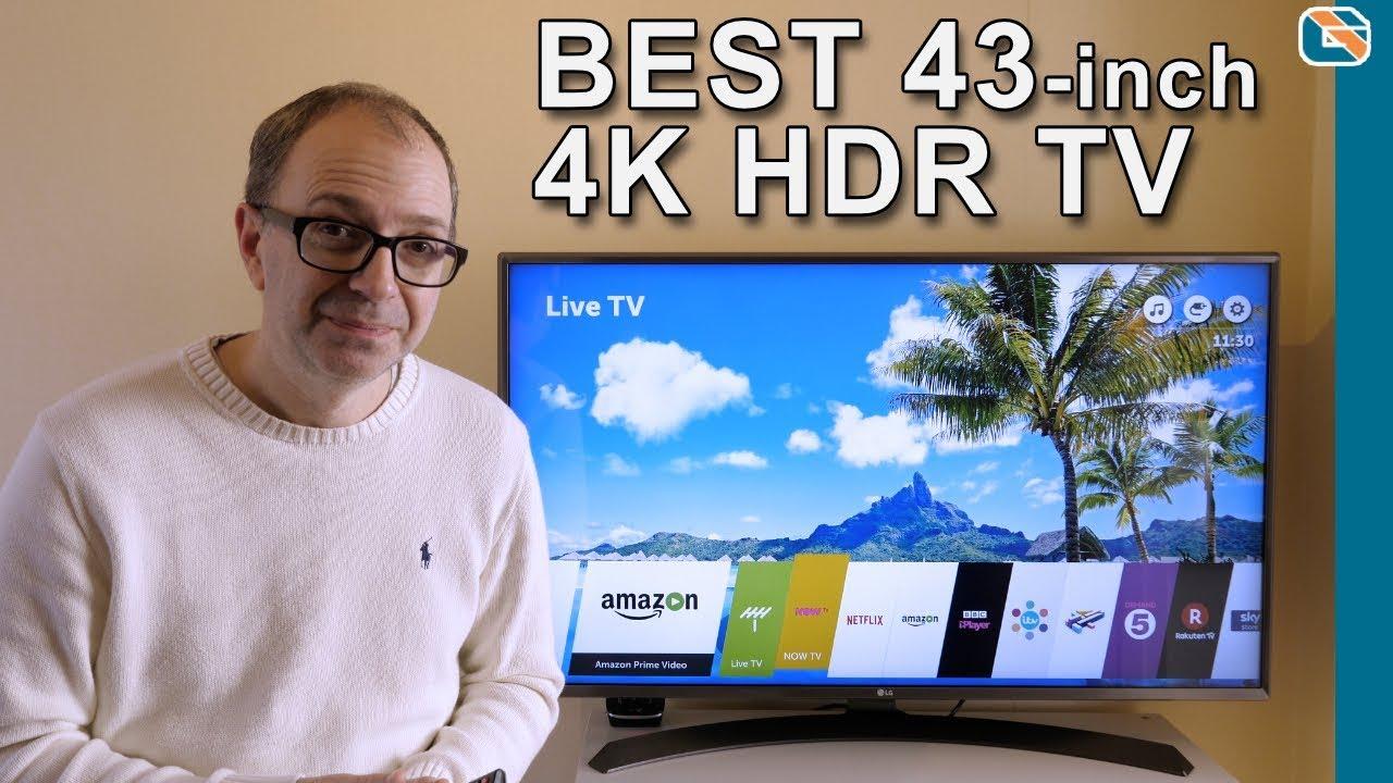 2ee9f1455 LG 43-UJ670V 4K UHD HDR TV Review - YouTube