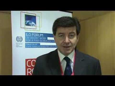 Guy Ryder, Secretary General of ITUC