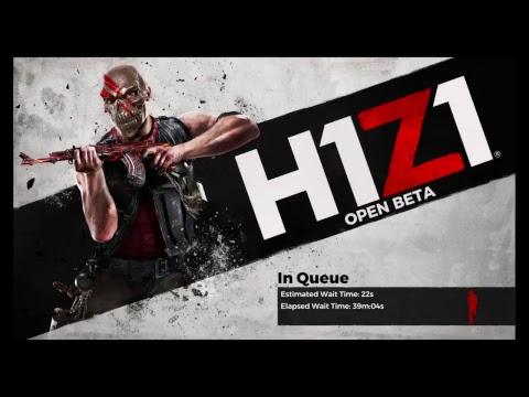 H1Z1 PS4 Open beta ( Battle Royale ) Let's do this