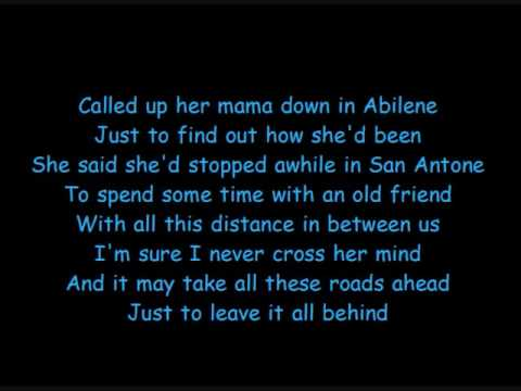 Tracy Lawrence - How A Cowgirl Says Goodbye with Lyrics