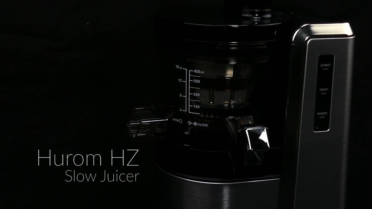 Hurom Hz Slow Juicer : Hurom HZ Alpha Slow Juicer Overview - YouTube