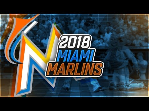 2018 MIAMI MARLINS! PROJECTED OPENING DAY ROSTER! MLB THE SHOW 17!