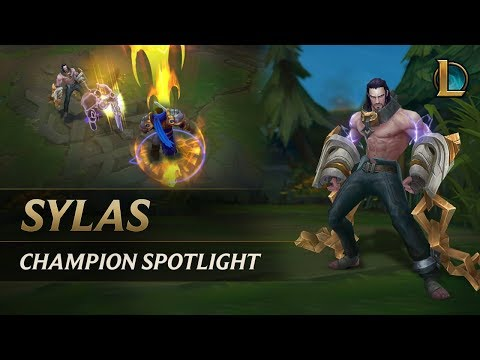 Sylas Champion Spotlight | Gameplay - League of Legends