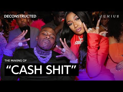 """The Making Of Megan Thee Stallion & DaBaby's """"Cash Shit"""" With LilJuMadeDaBeat 