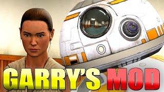 WORKING BB-8 IN GARRY'S MOD!! - Gmod Star Wars Force Awakens Mod (Garry's Mod)