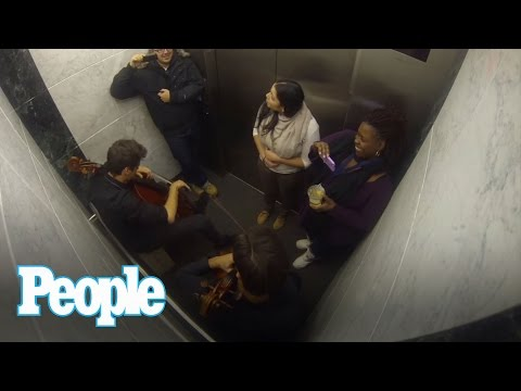 Check Out Who's Hiding in the PEOPLE Mag. Elevator  | People