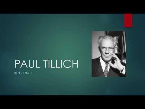 Paul Tillich Presentation