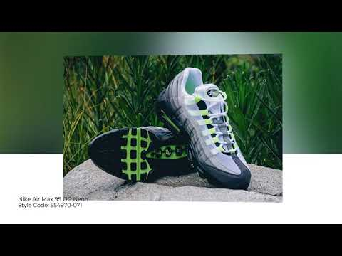 7e682d646d Nike Air Max 95 OG Neon 554970-071 || Closer Looks || SoleInfo - YouTube