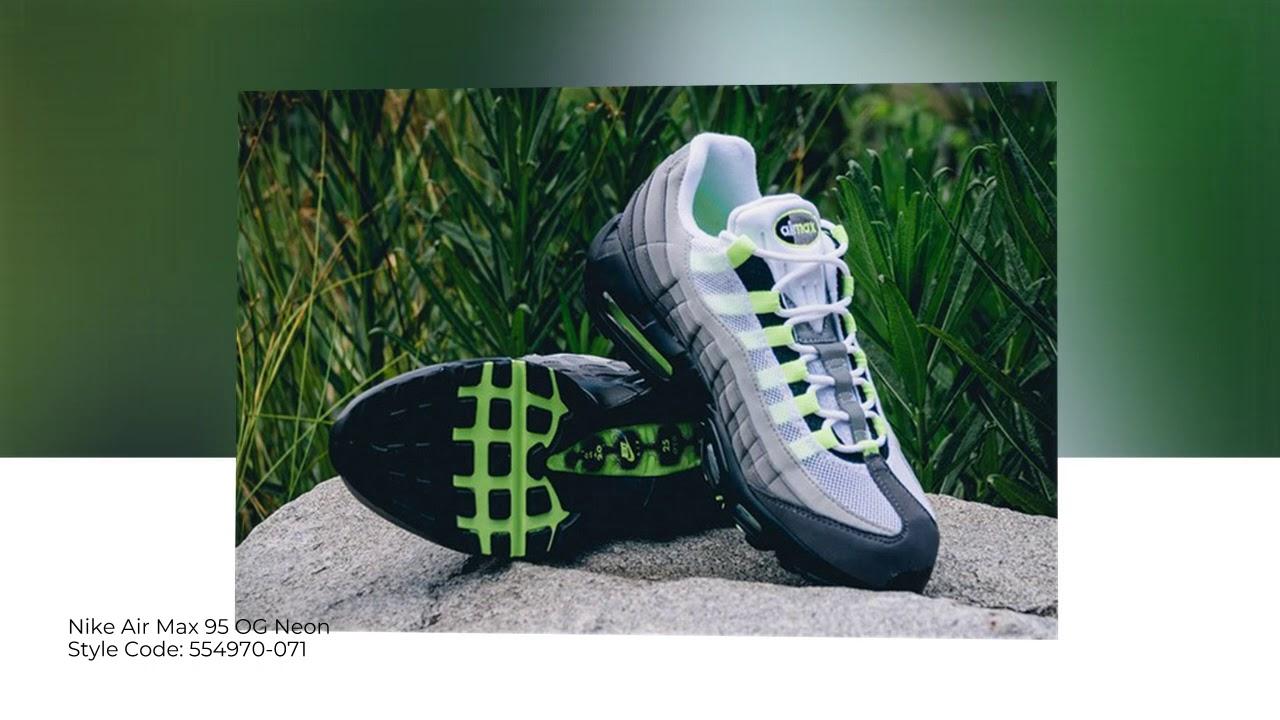 online retailer 99995 d75e0 Nike Air Max 95 OG Neon 554970-071    Closer Looks    SoleInfo