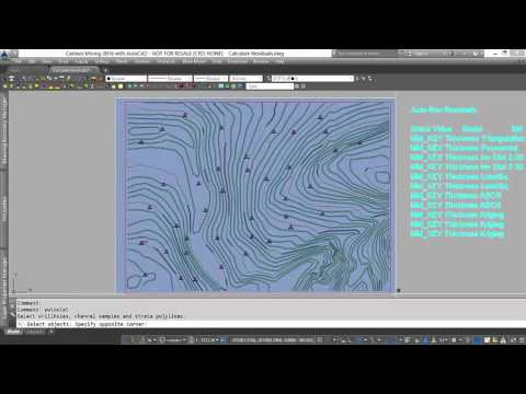 Geologic Modeling | Calculate Residuals