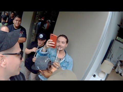 Jamsha en Colombia con Guelo Star, J Balvin, Nicky Jam y mas.