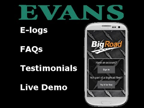 Evans Delivery & Electronic Logs