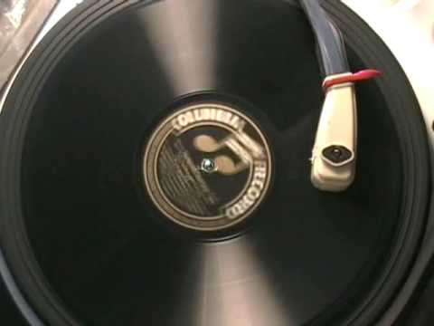 DEMONSTRATION RECORD by COLUMBIA RECORDS c.1910