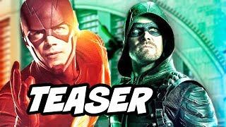 The Flash Season 4 - Four Night Crossover Concept Teaser Breakdown