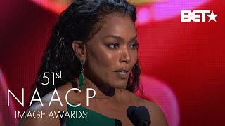 The Phenomenal Angela Bassett Wins Outstanding Actress In A Drama Series    NAACP Image Awards