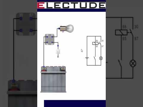 Как собрать электро-схему с реле