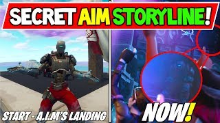 "*NEW* FORTNITE ""AIM"" STORYLINE EXPLAINED! SECRET on ""A.I.M FROM SPACE?"" Season 6 Storyline ENDING!"
