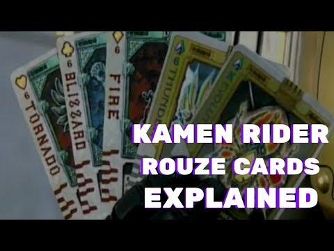 Kamen Rider Blade: Rouze Cards EXPLAINED