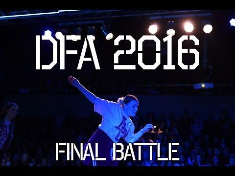DFA 2016 | Final Battle | Art Factory vs. LEFT J-AWA