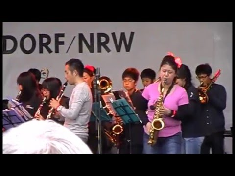 14. Japan-Tag Düsseldorf 2015 /Japanese international school/children's Choir /Video 1