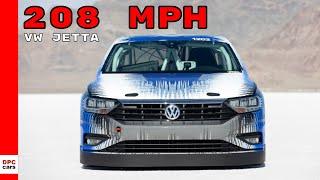 2019 Bonneville VW Jetta Recorded Top Speed Run