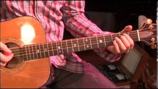 907 David Crowder Band Remedy Acoustic Guitar You Are My Joy Tutorial
