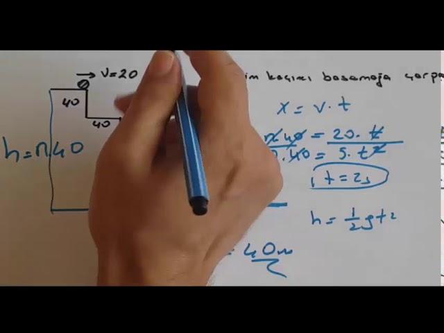 11.S?n?f Fizik Yaz?l?s? 1. Dönem 2.Yaz?l? S?nav Sorular? Çözümleri