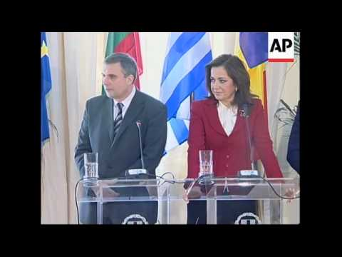 Foreign ministers from Greece, Bulgaria, Romania meet on Kosovo