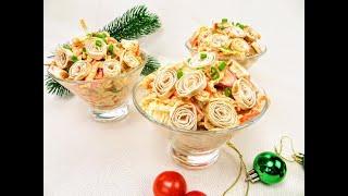Салат новинка! Салат - шаурма, продукты простые и готовить несложно / Буду готовить на Новый год