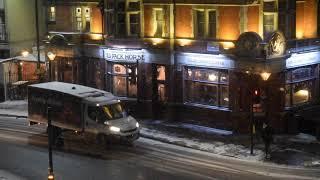 West London under a European Super-freeze
