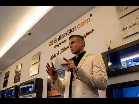 Bullion Banking 101 - Speech by BullionStar CEO, Torgny Persson