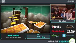 Marble Blast Ultra by Norferzlo in 39:09 - AGDQ2015 - Part 21