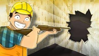 NOWE SUPER NARZĘDZIE - SHOTGUN DO WYBURZANIA! | HOUSE FLIPPER