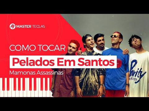 💎 Pelados Em Santos - Mamonas Assassinas  Piano Tutorial - Master Teclas 💎