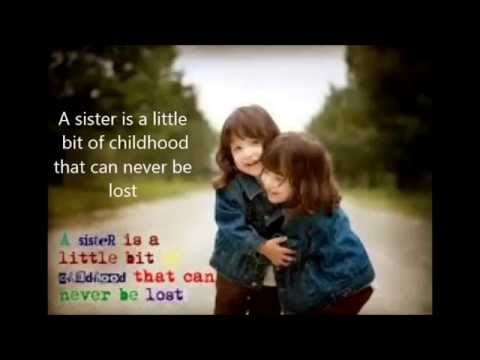 national sisters day youtube