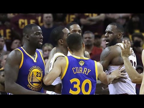 Thumbnail: LeBron James Calls Draymond Green A Bitch, Pushes Steph Curry
