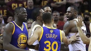 LeBron James Calls Draymond Green A Bitch, Pushes Steph Curry