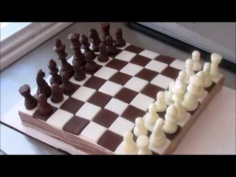 Chess Board Cake Game Night!!!!