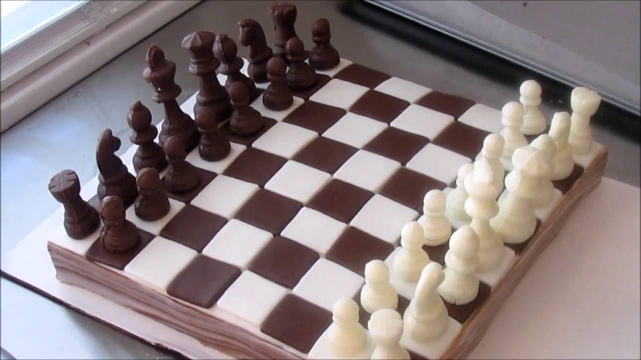 Chess Board Cake Game Night Youtube