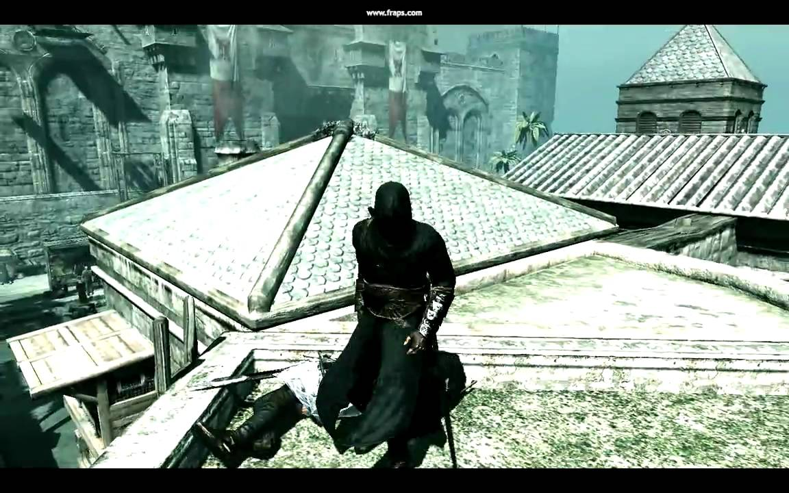 Assassin S Creed Pc Black Ninja Skin Max Settings Dx9 Youtube
