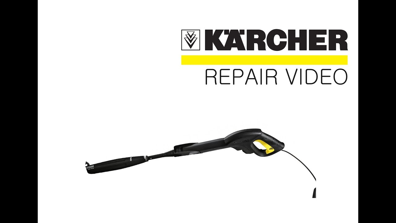 how to fix a karcher pressure washer spary gun [ 1280 x 720 Pixel ]
