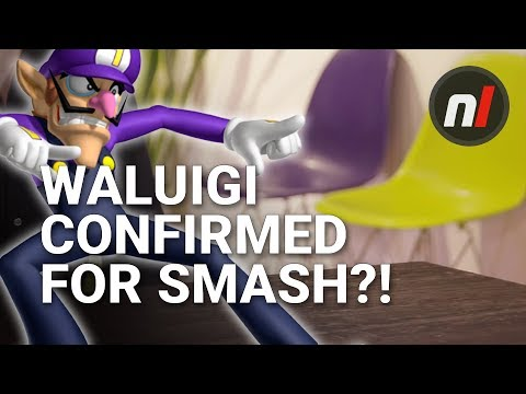 Waluigi Supposedly Confirmed for Smash Ultimate by Two Chairs According to Twitter