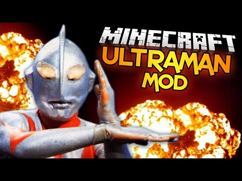 Minecraft Mod | ULTRAMAN MOD • (Massive Mobs, Armor, Ores, & MORE!) - Minecraft Mod Showcase