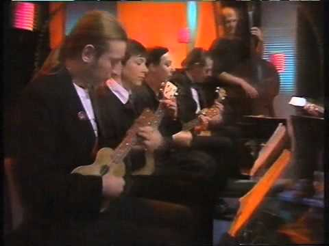 The Ukulele Orchestra of Great Britain: vintage clip from 1990
