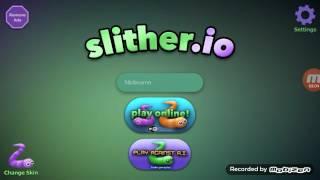 Игра slithered.io  - - игра червячки